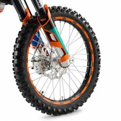 KIT DECOS ROUE AV + AR ORANGE