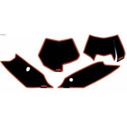 Fond Plaque Numéro SX 2011-2012 EXC 2012