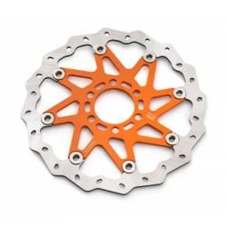 Wave front brake disc