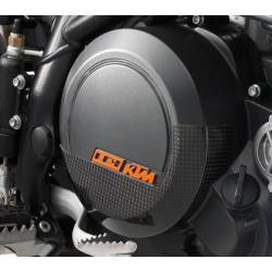 Carbon clutch cover protection