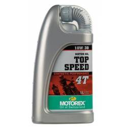 MOTOREX TOP SPEED 4T 10W30 1L
