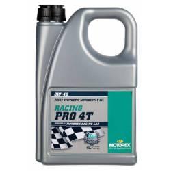 MOTOREX RACING PRO 4T 0W40 4L