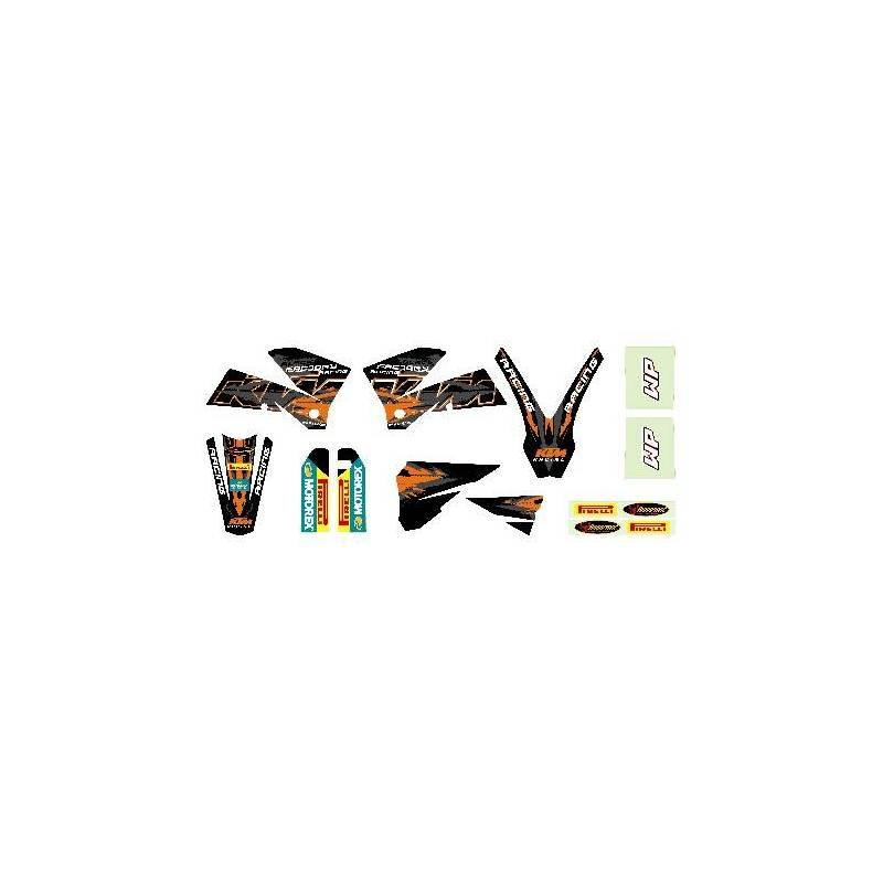 kit deco black sx 2003 2006 kit deco sx 125 200 250 400 450 525 2003 2006pour les models 2003