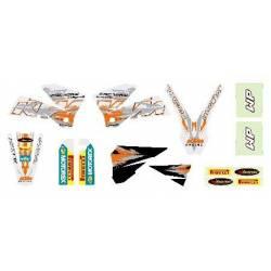 EXC 2003-2007 125-200-250-300-400-450-525 Kit Deco Blanc