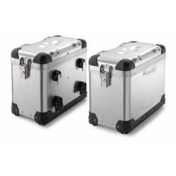 Valise aluminium 45L