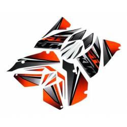 "KTM KIT STICKERS ""NEON"""