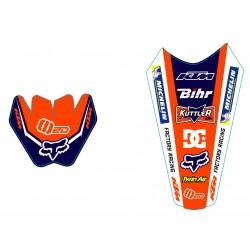 EXC 2003-2007 125-200-250-300-400-450-525 Kit Déco KTM Team