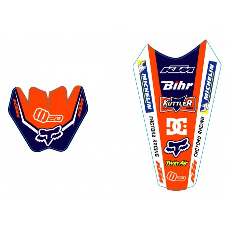 EXC 2003-2007 125-200-250-300-400-450-525 Kit Déco KTM Team