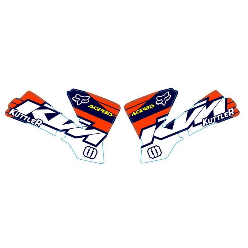 sx 50 2002 2008 kit d 233 co team ktm accessoires moto ktm equipements motard et pi 232 ces d 233 tach 233 es