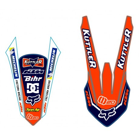 SX 2016 125-150-250-350-450 Kit Déco Team KTM