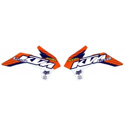 EXC 2014-2016 125-250-300-350-450-500 Kit Déco Team KTM
