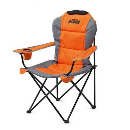 KTM RACETRACK CHAIR ORANGE Chaise Pliante Confortable