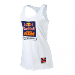 Red Bull KTM Racing Women's Logo Tank White