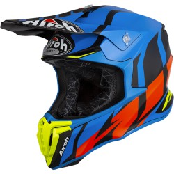 AIROH TWIST HELMET BLUE MATT