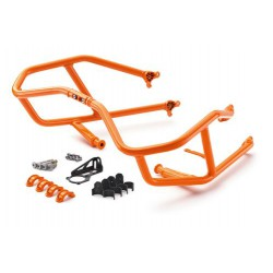 Barres de protection orange