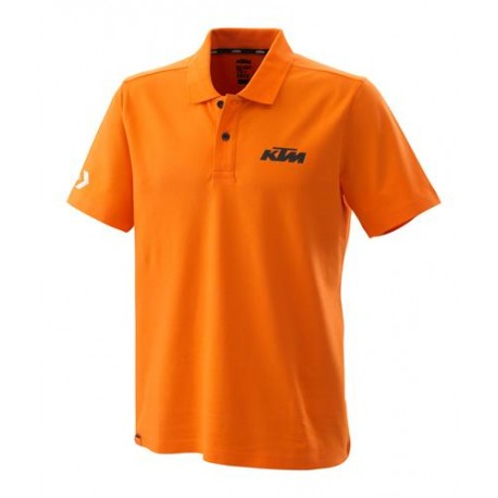 RACING POLO ORANGE