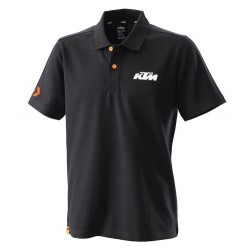 RACING POLO BLACK