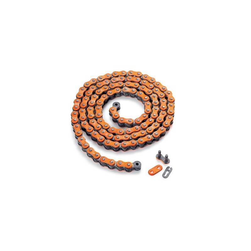chaine x ring orange avec joint torique sx exc chaine 520 sx exc x ring orange ktm kuttler motos. Black Bedroom Furniture Sets. Home Design Ideas
