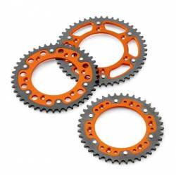 COURONNE ORANGE KTM SX 60-65 1998-2011